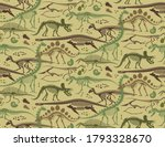 camouflage pattern with... | Shutterstock .eps vector #1793328670