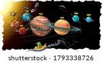 vector cartoon style... | Shutterstock .eps vector #1793338726