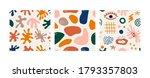 abstract seamless pattern set....   Shutterstock .eps vector #1793357803
