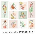 abstract woman vector...   Shutterstock .eps vector #1793371213