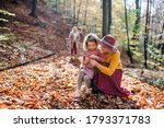 Small Girl With Mother And...