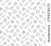 stationery seamless pattern...   Shutterstock .eps vector #1793378173