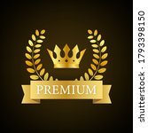 premium. premium in royal style ... | Shutterstock .eps vector #1793398150