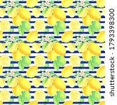 Lemon Digital Paper Watercolor...