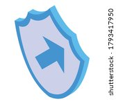 shield breakthrough icon....   Shutterstock .eps vector #1793417950