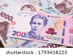 New Banknote Of 200 Hryvnia...
