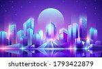 vector neon colorful gradient...   Shutterstock .eps vector #1793422879