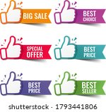 hand banner collection... | Shutterstock .eps vector #1793441806