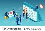 vector of a business team... | Shutterstock .eps vector #1793481703