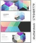 vector layout of headers ... | Shutterstock .eps vector #1793489779
