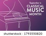 september is classical music... | Shutterstock .eps vector #1793550820