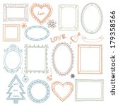 collection of hand drawn doodle ... | Shutterstock .eps vector #179358566