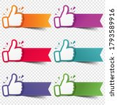 hand set recommended with... | Shutterstock .eps vector #1793589916