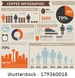 perfect detailed coffee... | Shutterstock .eps vector #179360018
