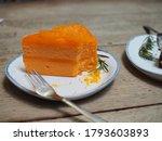 Orange Cake Has 4 Layers ...
