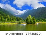 alps italy lake  view  paso... | Shutterstock . vector #17936830