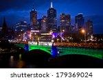 melbourne   february 22 ...   Shutterstock . vector #179369024