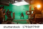 In The Big Film Studio...