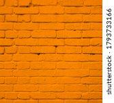 yellow brick wall texture... | Shutterstock . vector #1793733166