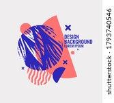 modern abstract art geometric... | Shutterstock .eps vector #1793740546