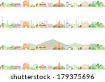 city | Shutterstock .eps vector #179375696