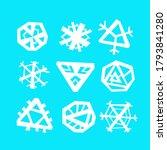 Snowflakes Vector Illustration...