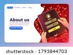 login window app  sign in...   Shutterstock .eps vector #1793844703
