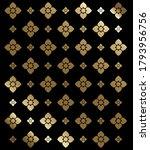 flower pattern in traditional... | Shutterstock .eps vector #1793956756