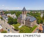 Cambridge City Hall Aerial View ...
