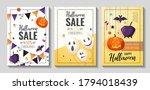 happy halloween promo sale... | Shutterstock .eps vector #1794018439