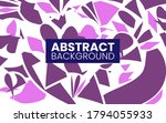 abstract flat dynamic creative...   Shutterstock .eps vector #1794055933