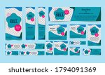 ad banners collection free... | Shutterstock .eps vector #1794091369