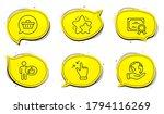 touchscreen gesture sign.... | Shutterstock .eps vector #1794116269