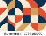 abstract vector geometric... | Shutterstock .eps vector #1794180070