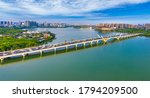 Lihu bridge, Wuxi, Jiangsu Province, China