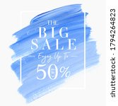 big sale up to 50  off sign... | Shutterstock .eps vector #1794264823