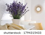 Beautiful Lavender Flowers And...