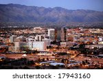 Skyline Of Tucson  Arizona ...