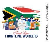 thank you frontline workers.... | Shutterstock .eps vector #1794373063