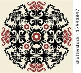 ornate baroque pattern | Shutterstock .eps vector #17943847
