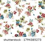seamless beautiful watercolor... | Shutterstock . vector #1794385273