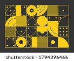 color geometric design  vector... | Shutterstock .eps vector #1794396466