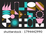 modern artwork of abstract... | Shutterstock .eps vector #1794442990