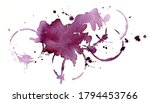background red wine stains.... | Shutterstock . vector #1794453766