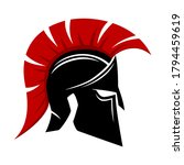 spartan helmet icon isolated on ... | Shutterstock .eps vector #1794459619