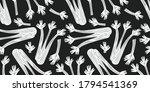 hand drawn vector celery...   Shutterstock .eps vector #1794541369