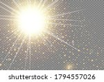 the dust is yellow. yellow... | Shutterstock .eps vector #1794557026