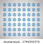 seamless snowflakes pattern... | Shutterstock .eps vector #1794559273