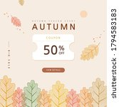 autumn shopping event... | Shutterstock .eps vector #1794583183