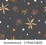 abstract hand drawing geometric ... | Shutterstock .eps vector #1794623830